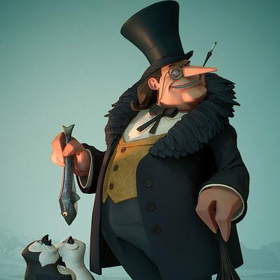 Brad myers penguin thumb artstation