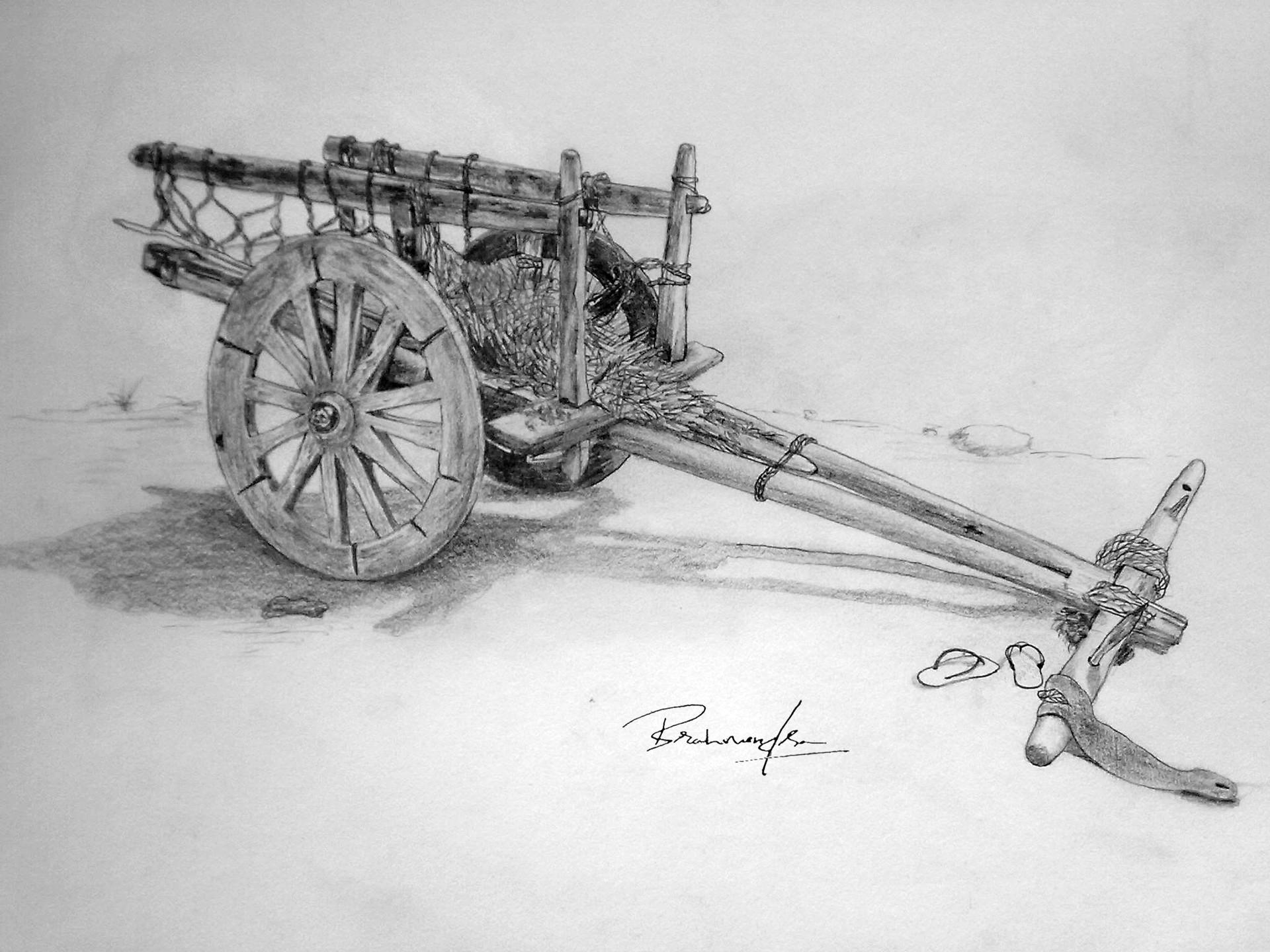 Lakshmiraju brahmendra bullock cart