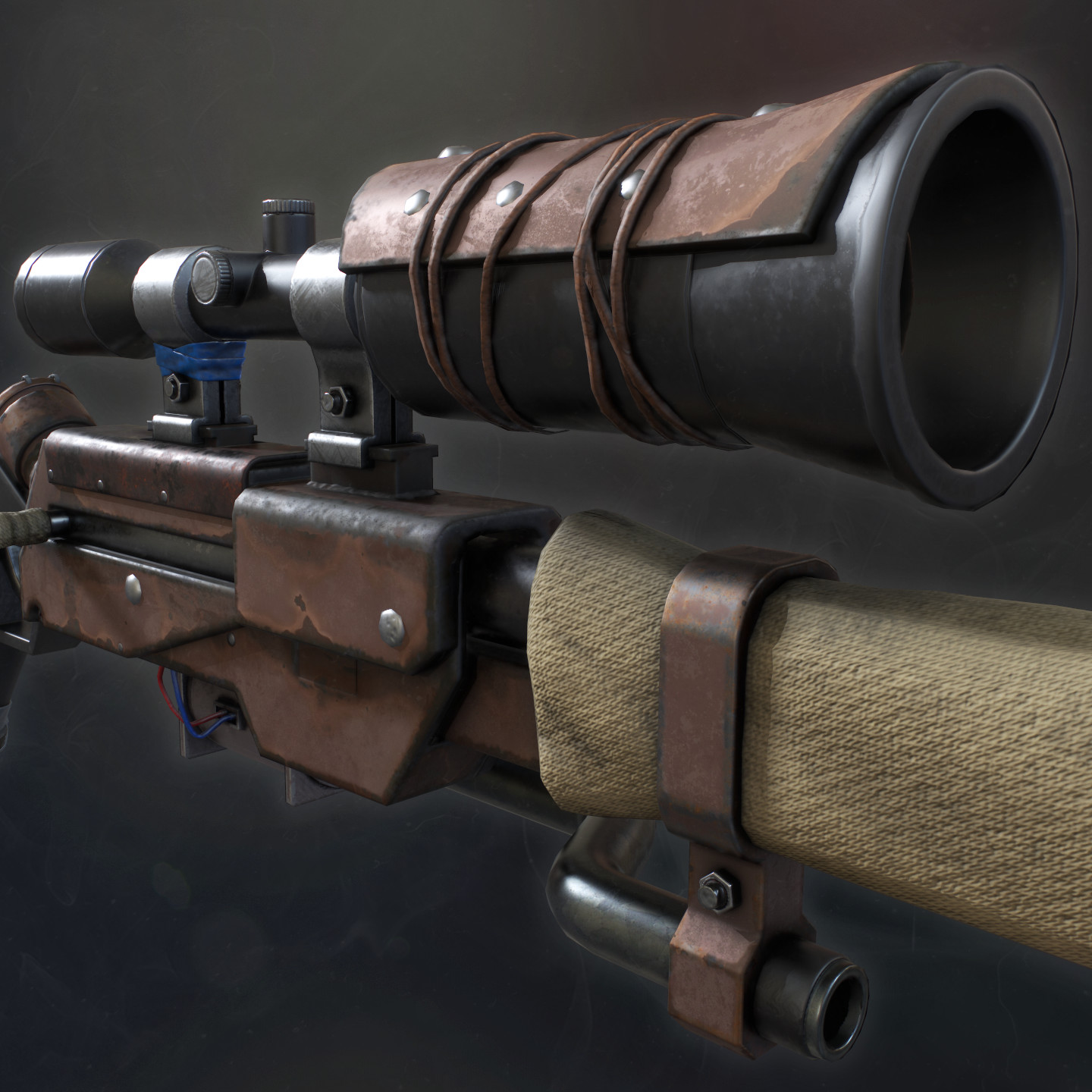 High Powered Air Sniper Rifle