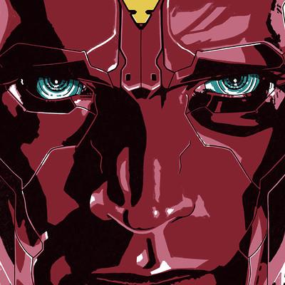Steve sampson avengers vision thedarkinker d1