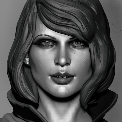 Woman sculpt
