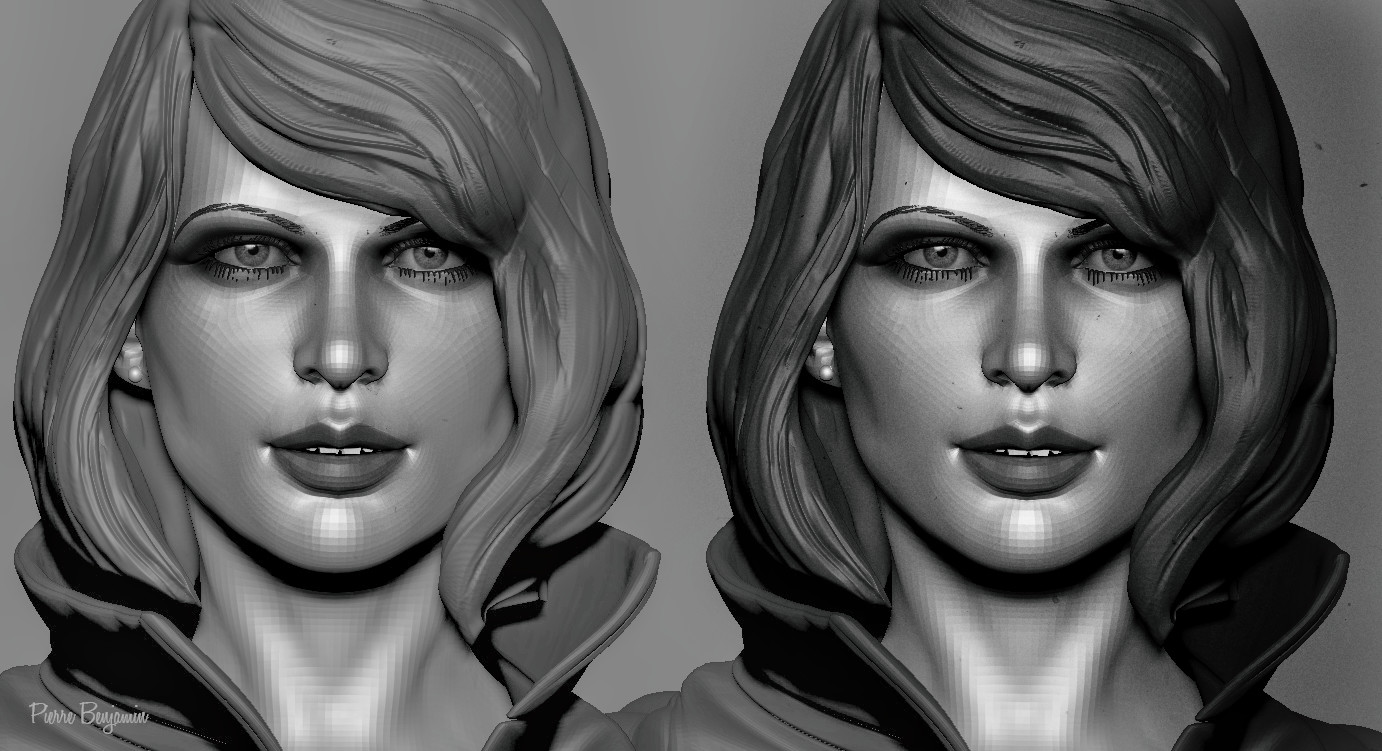 Woman sculpt