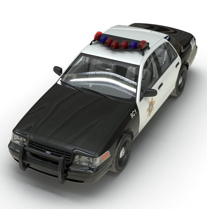 Ford Crown Victoria (LVMPD)