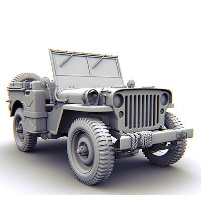 Occultart   willies jeep 1942 thumbnail