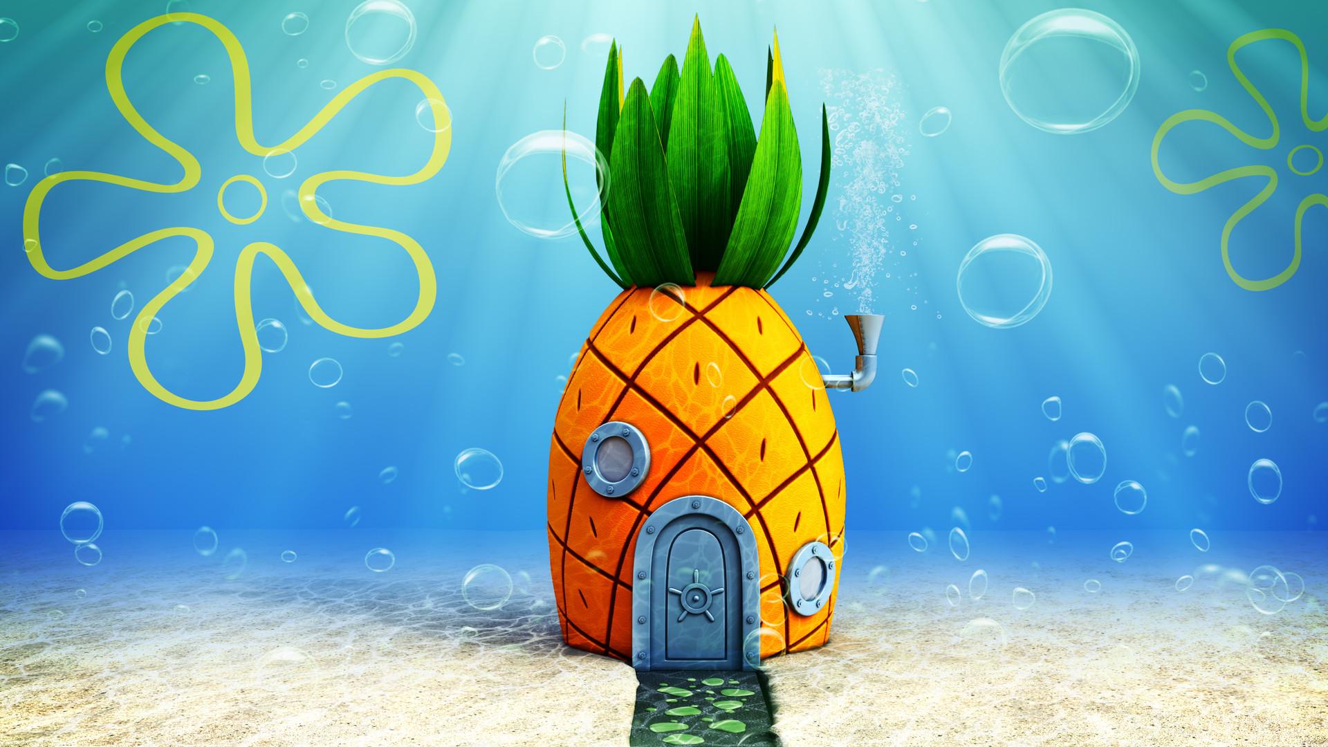 gabriel goldner - 3d - house of spongebob squarepants