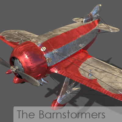 ArtStation - The Barnstormers, Andrew Pavlick
