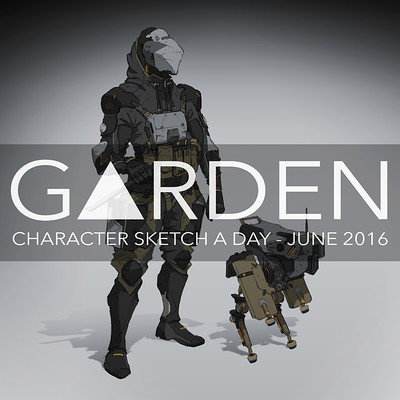 Tom garden sketchaday logo 2