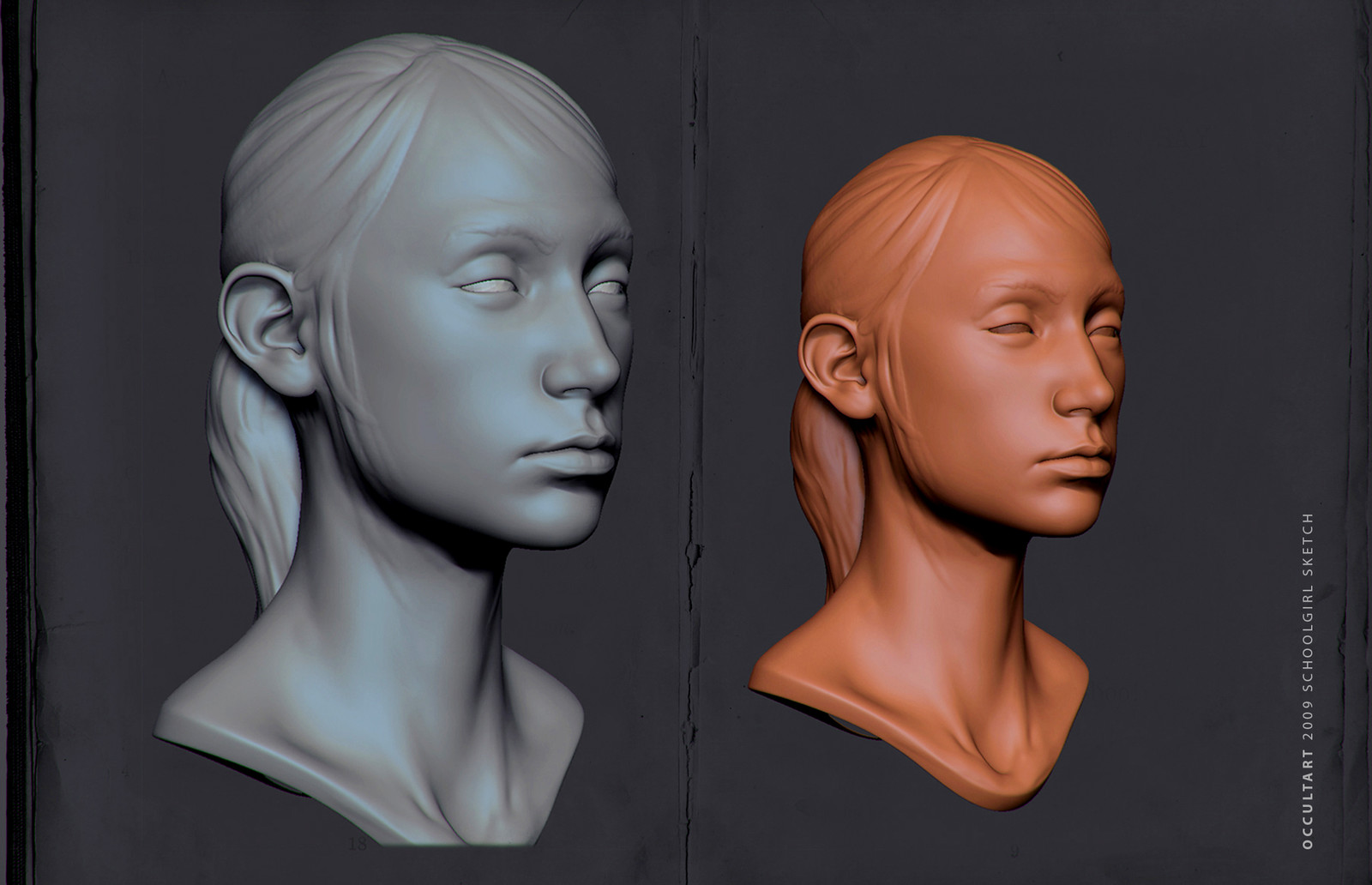 Girls Zbrush Sketches (OLD)