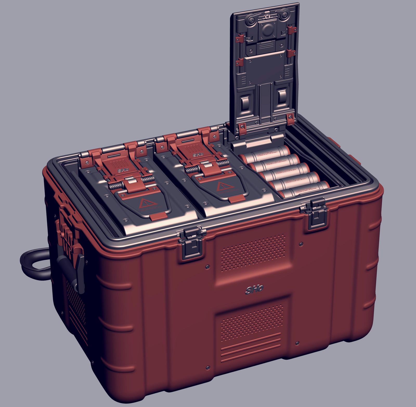 Ammo crate 2012