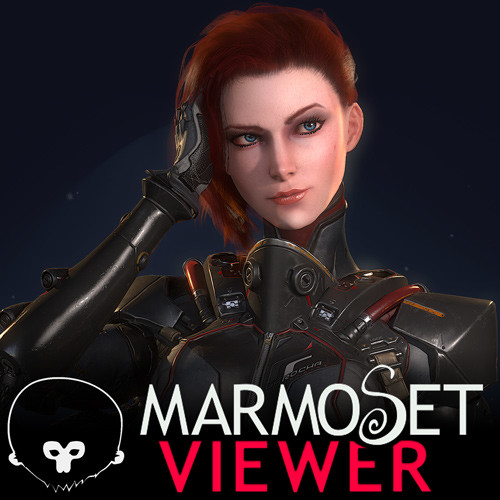 Scifi Pilot (Marmoset Viewer)
