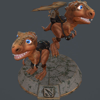 Chompers Dota 2 Courier