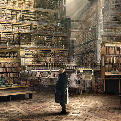 Kieran belshaw citadel library setwalkway v007