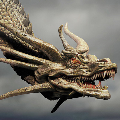 Dope pope zghidorah head pupil by dopepope