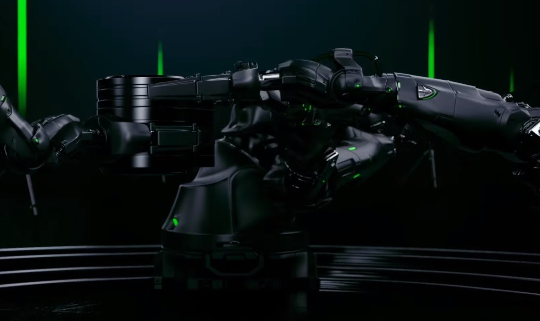 Razer Mamba Adv. Robot Model-Design