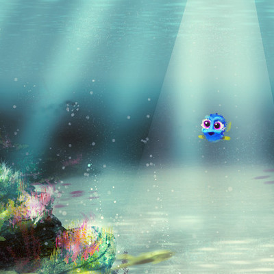 Lorena loguen deep ocean and baby dori by lorena loguen
