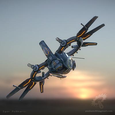 Igor puskaric drone alen lava profile