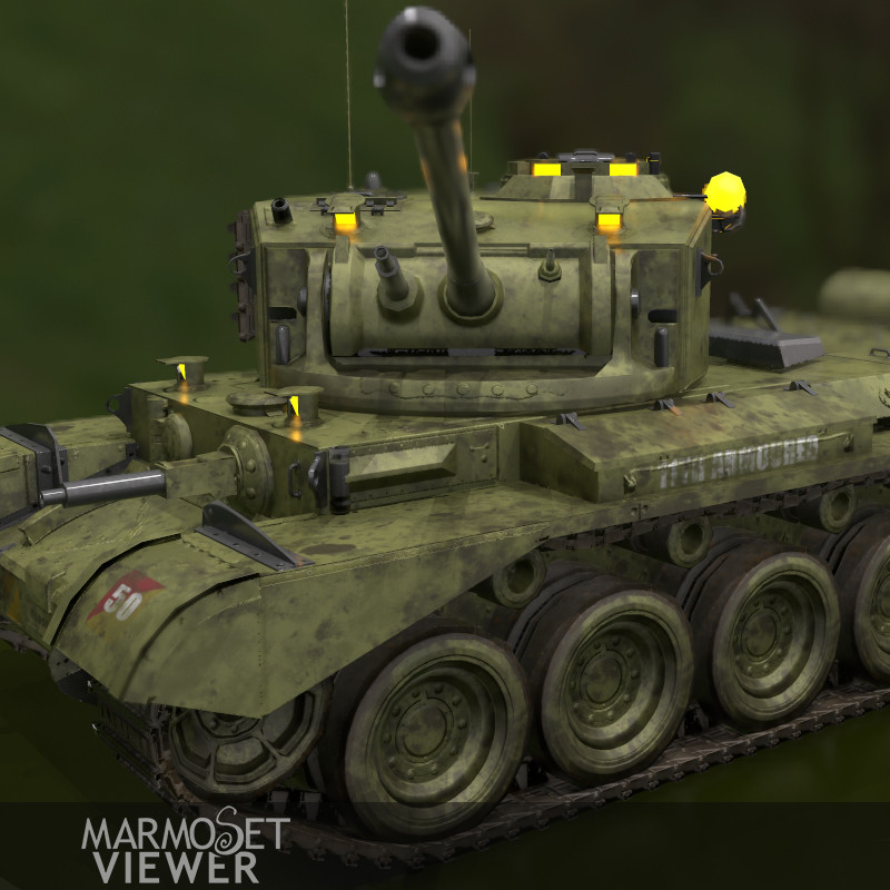 Comet Tank - Uni Project