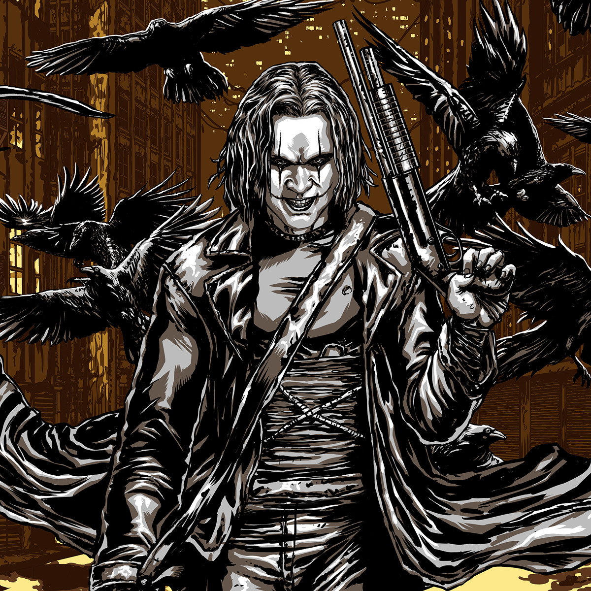 The Crow - San Diego Comic Con Exclusive Poster