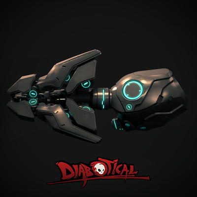 High Poly Magma Gun, Diabotical Game