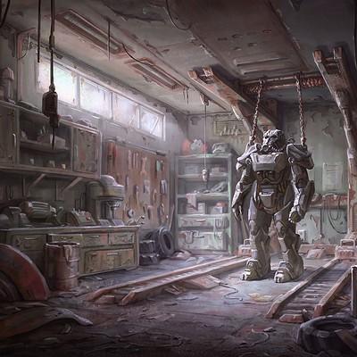 Ilya nazarov fallout4 concept garage 1434323462 0