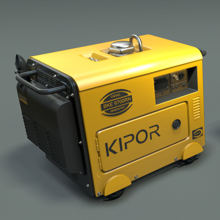 Mech Diorama Power Generator