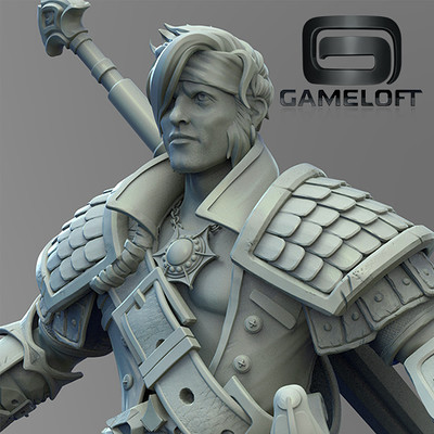 Gameloft - previs sculpt