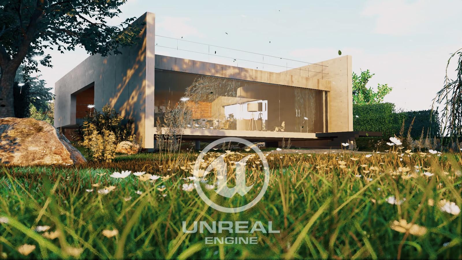 Two Beams House - Unreal Engine Archviz