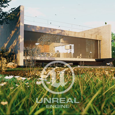 Two Beams House - Unreal Engine Archviz
