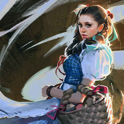 Dorothy  Illustration Series
