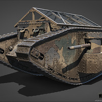 ArtStation - Rheinmetall Panzerwagen, Anton Grozin