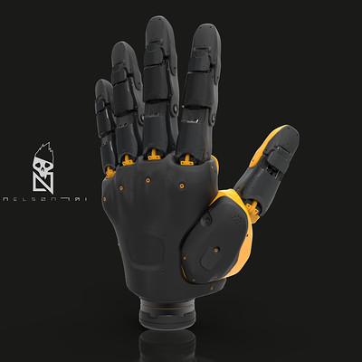 Bionic Hands WIP.