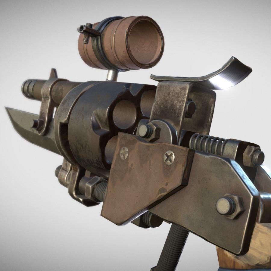 Handmade Revolver
