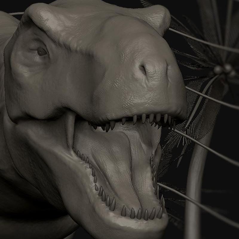 J-Park T-Rex Modeling - Carl Vazquez
