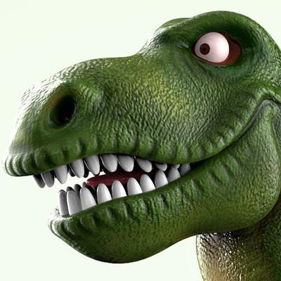 Tomislav zvonaric behance dinosaur thumbnail