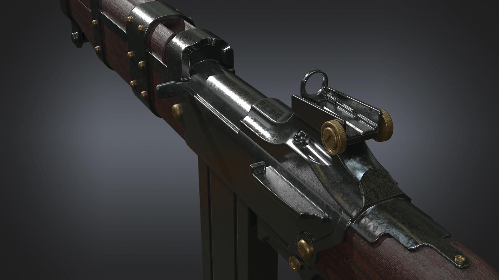 Speed Modeling - Carbine Bioshock Fanart
