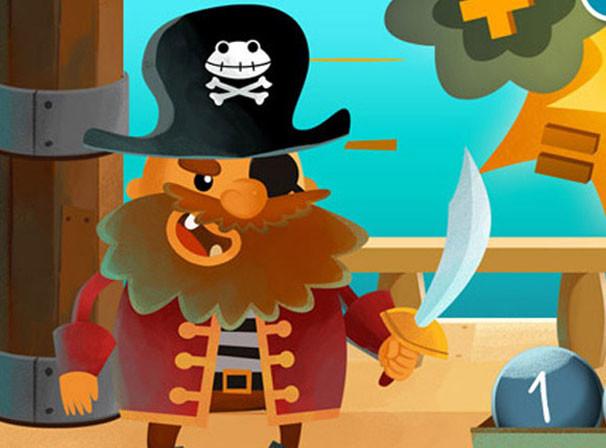 Captain Maths - Kids application