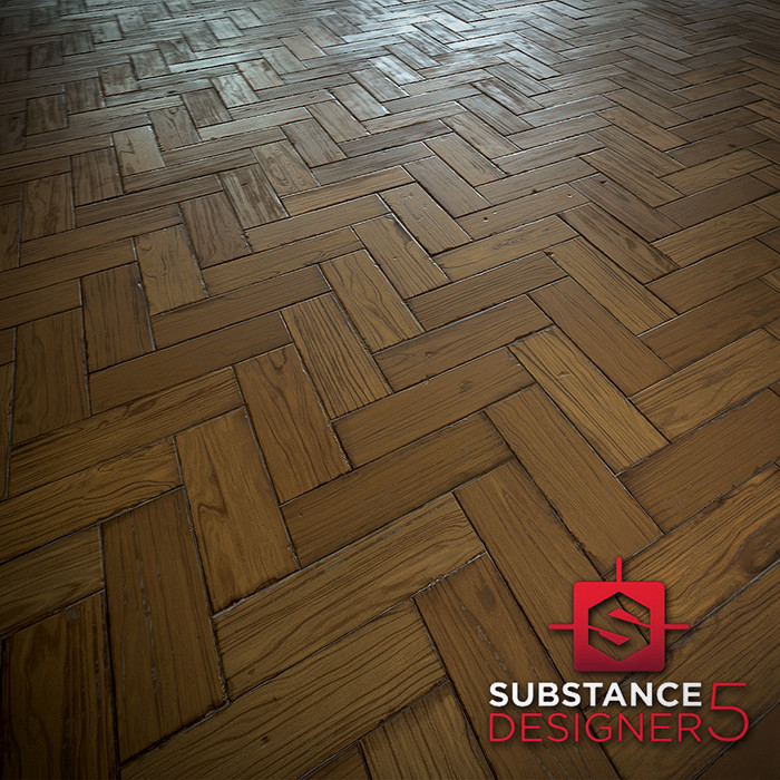 Parquet Wood - Substance Designer