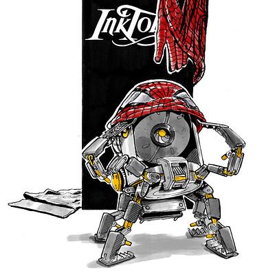 Josh matts inktober2016 14 c