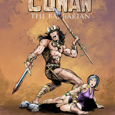 Timothy klanderud tims conan issue 01 marvel coverart line n colorart