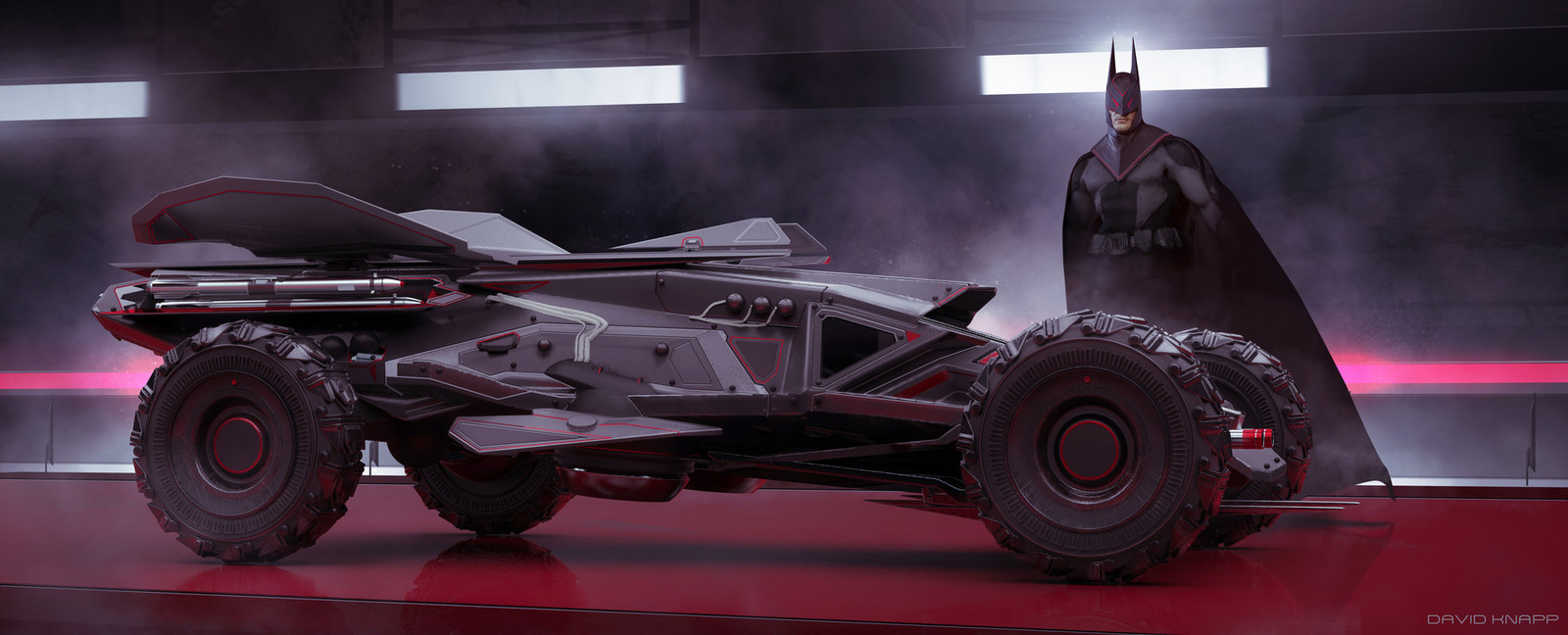 Lightweight Batmobile Concept