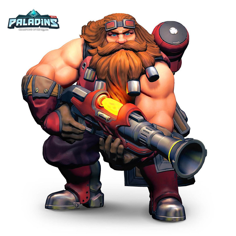 Barik's Rifle - Paladins: Champions of the Realm