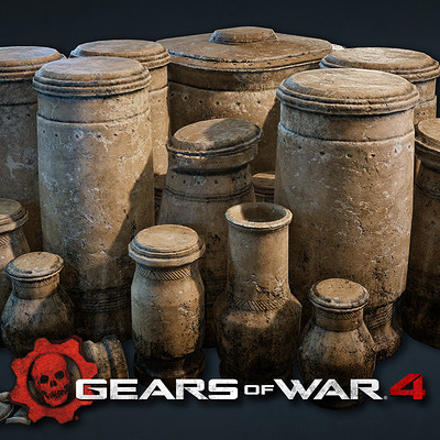 Gears of War 4: Props and Assets