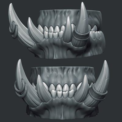 Wendy de boer grommash teeth icon