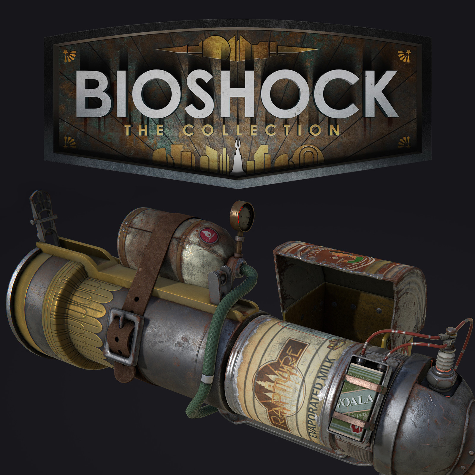 Bioshock: The Collection - Grenade Launcher