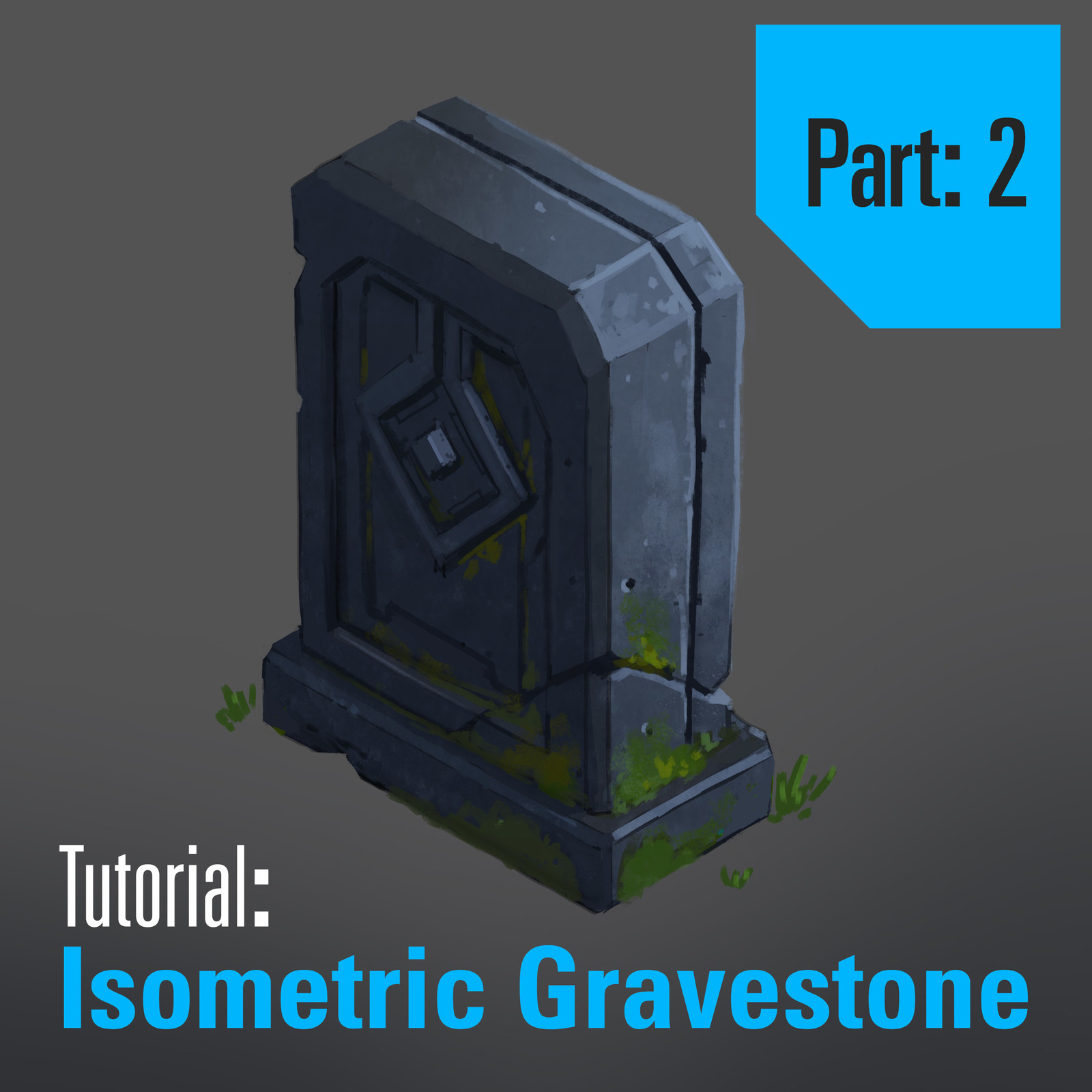 Tutorial: Isometric Gravestone - Part 2