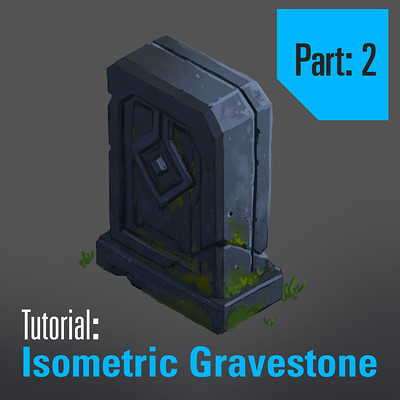 Tim kaminski tutorial isometric gravestone part 2 square