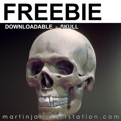 Martin jario freebie skull