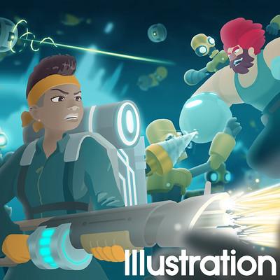 Matthew ramirez illustration