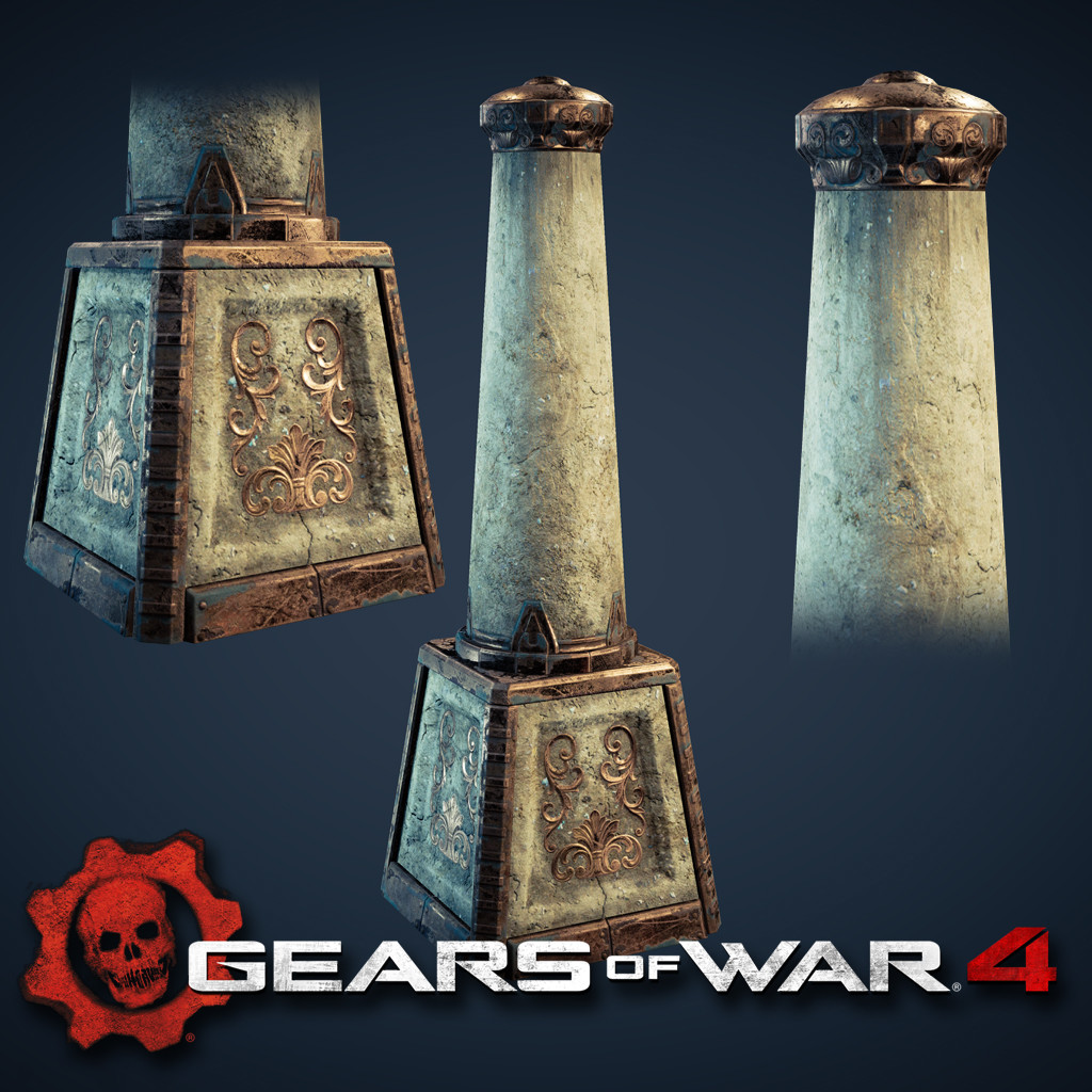 Gears of War 4 - Assets