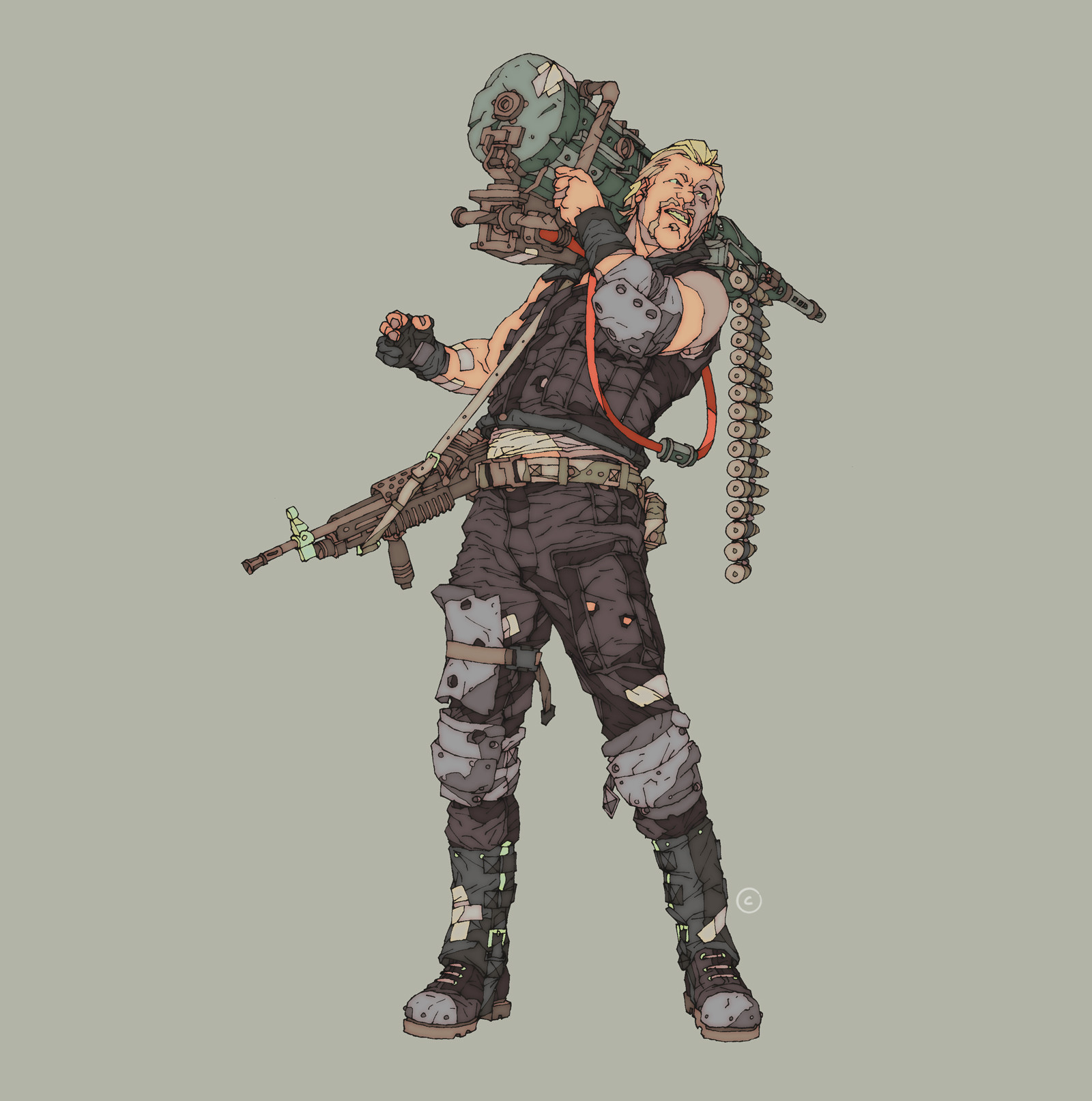 Fallout 4 Character Design Tips : Artstation post apocalyptic character designs calum